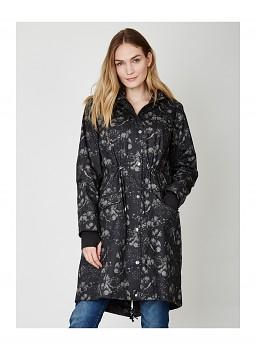 ETOILE nepromokavá bunda ze 100% biobavlny - tmavě šedá