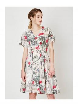 VOYAGE DE JEANNE dámské šaty ze 100% tencelu