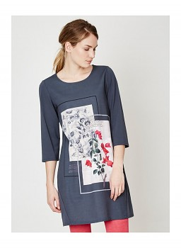 BOUGAINVILLEA dámské šaty z tencelu a biobavlny