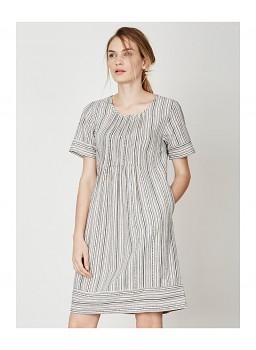 HETTIE dámské šaty z konopí a biobavlny