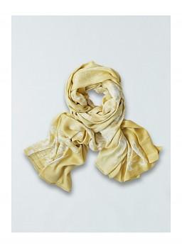 CLAIRA dámská šála ze 100% bambusového vlákna - žlutá maize