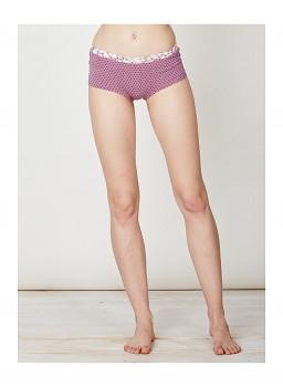 JOELLA dámské bambusové kalhotky (boxerky) - růžová