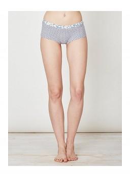 JOELLA dámské bambusové kalhotky (boxerky) - modrošedá