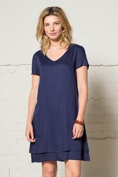 FLOATY dámské letní šaty - tmavě modrá navy