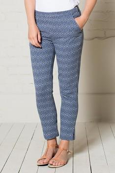 PEG dámské letní kalhoty - světle modrá