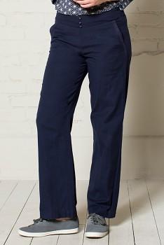 PLAIN dámské letní kalhoty - tmavě modrá navy