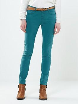 SKINNY dámské letní džíny - světle modrá ocean