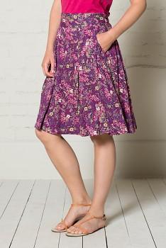 MEADOW dámská letní sukně - malinová