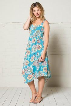 BALI dámské letní šaty - tyrkysová