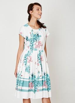 NEVADA dámské šaty z tencelu a biobavlny