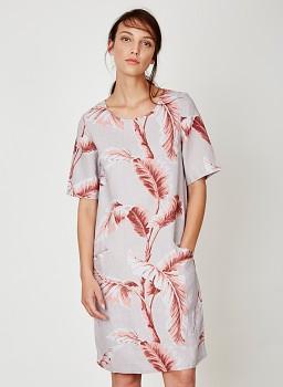 PALM BAJA dámské šaty ze 100% konopí