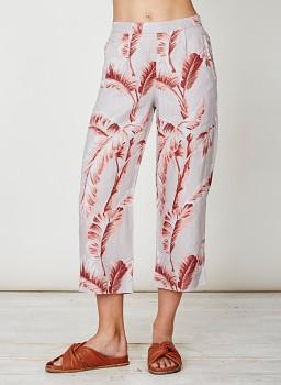 PALM BAJA dámské kalhoty culottes ze 100% konopí