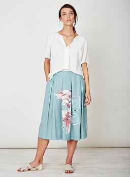 AUSTIN dámská košile ze 100% tencelu - bílá cloud