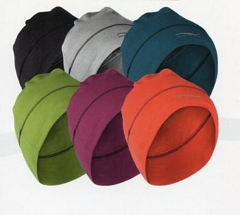 POCKET unisex čepice z merino vlny a hedvábí - různé barvy