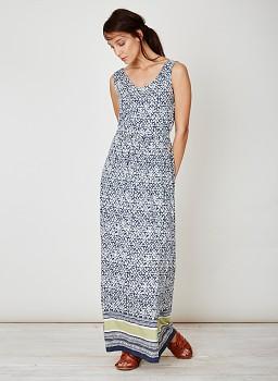 MOSACIO dámské letní maxi šaty z bambusu a biobavlny