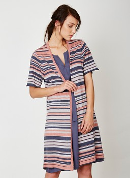 ANOUK  dámský svetr z konopí a biobavlny - terracotta