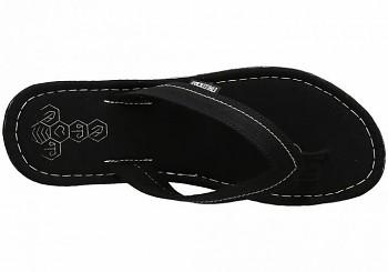 Ethletic Fair Flip Collection - žabky černá jet