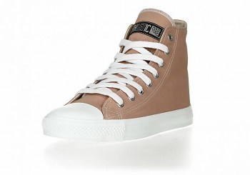 Fair Trainer white cap Hi cut Collection tenisky - light clay/just white