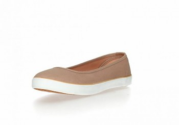 Ethletic Fair Dancer Collection balerinky - light clay