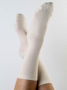 Ponožky ze biobavlny - přírodní