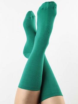 Ponožky ze biobavlny - zelená