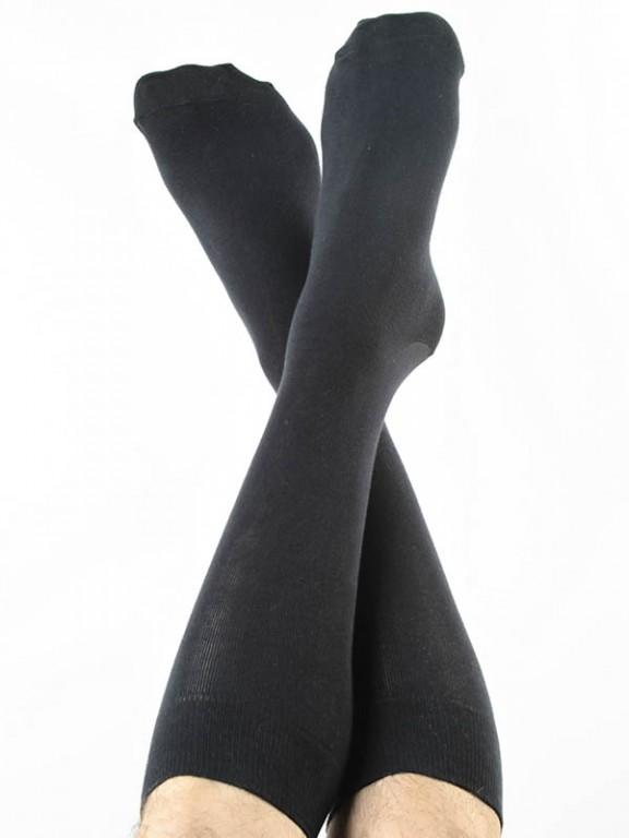 Klasické bambusové ponožky černé 30denni garance vraceni zbozi logo ... 32cc8431ed