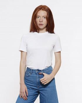 Stella SELECTS dámské tričko s kulatým výstřihem ze 100% biobavlny - bílá d795cabc99