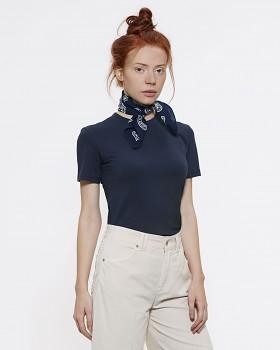 Stella SELECTS dámské tričko s kulatým výstřihem ze 100% biobavlny - tmavě modrá french navy