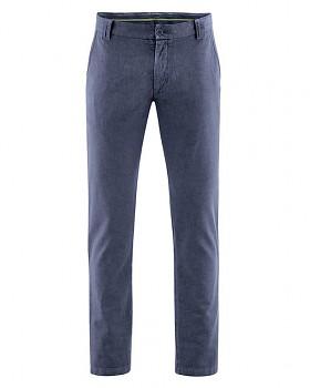 CHINO pánské kalhoty z konopí a biobavlny - tmavě modrá wintersky