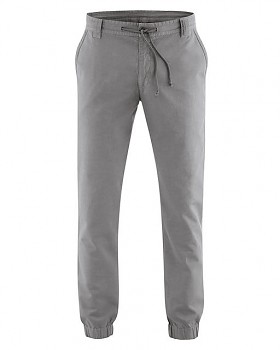 CORD pánské kalhoty z konopí a biobavlny - šedohnědá taupe
