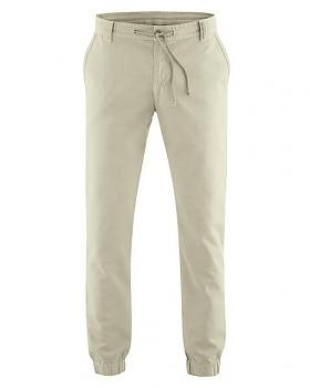 CORD pánské kalhoty z konopí a biobavlny - béžová hanf