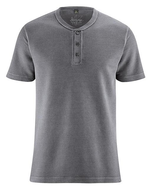24c9f40d415 QUENTIN pánské pruhované triko s dlouhými rukávy z konopí a ...