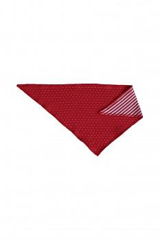 NICKY dětský šátek ze 100% biobavlny - červená ibišková