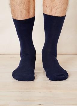 Pánské bambusové ponožky - tmavě modrá navy