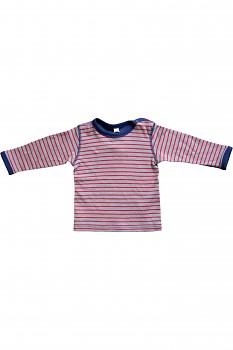 WENDEL dětské oboustranné tričko ze 100% biobavlny - ocean