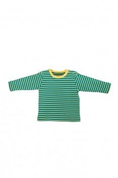 RINGEL dětské tričko ze 100% biobavlny - zeleno žlutá scandinavia