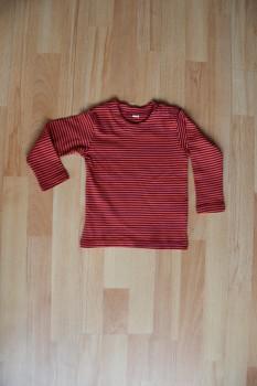 RINDEL dětské tričko ze 100% biobavlny - červená india