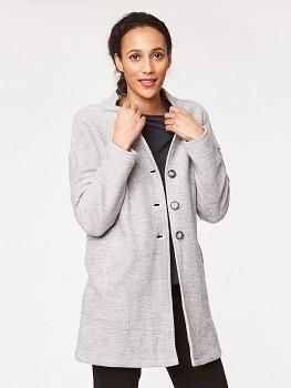 HARTLEY dámský kabátek ze 100% biobavlny - světle šedá