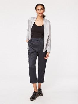 COURBET dámské kalhoty z modalu a bambusu - tmavě šedá
