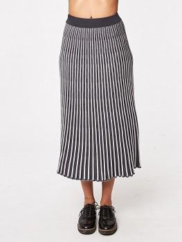 AGNES dámská pletená sukně z bambusu a biobavlny