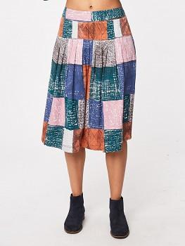 HEPWORTH dámská sukně z tencelu a biobavlny