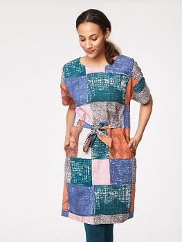 HEPWORTH dámské šaty z tencelu a biobavlny