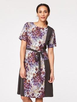 RUSKIN FLORAL dámské šaty ze 100% tencelu