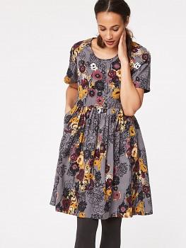 VIENNA FLORAL dámské šaty ze 100% tencelu