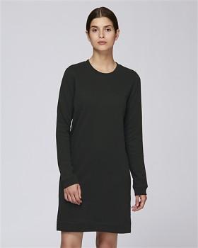Stella KICKS dámské šaty z biobavlny - černá
