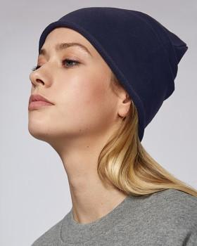 TERRY unisex čepice z biobavlny - tmavě modrá french navy