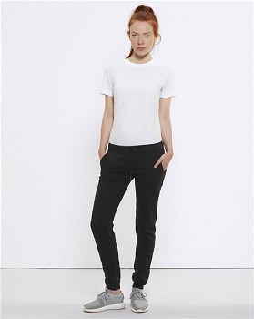 Stella TRACES dámské teplákové kalhoty z biobavlny - černá