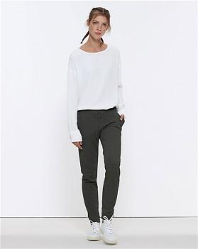 Stella TRACES dámské teplákové kalhoty z biobavlny - tmavě šedá dark heather grey