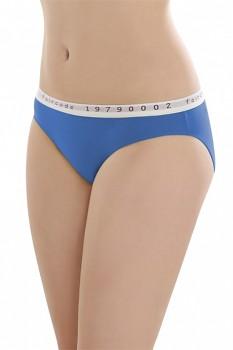 Comazo Earth Dámské klasické kalhotky Faircode z biobavlny - modrá