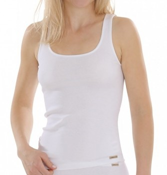 Comazo Earth Dámská košilka ze 100% biobavlny - bílá